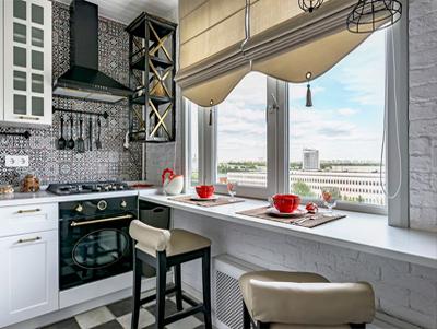 Стол подоконник на кухне Днепр